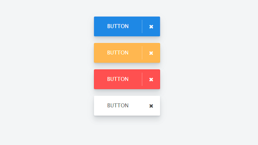 Simple button hover and click animation